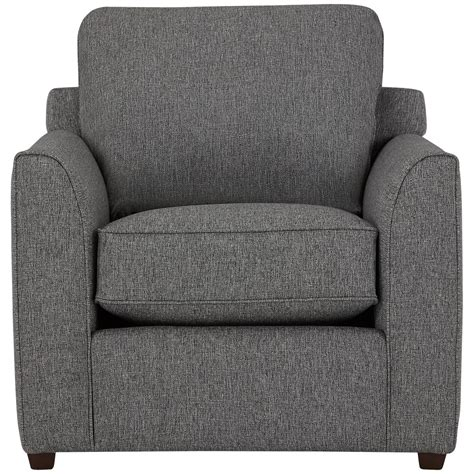 Asheville Upholstery by City Furniture Asheville Gray Fabric Chair