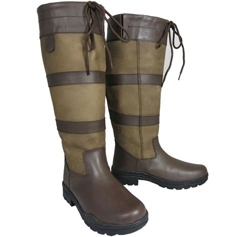 farm boots for mens waterproof winter farm wellies leather