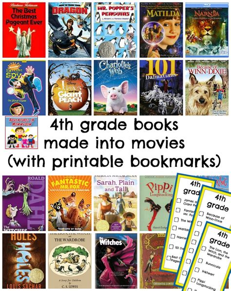 biography book list for 4th graders over 100 books made into movies to enjoy with your family