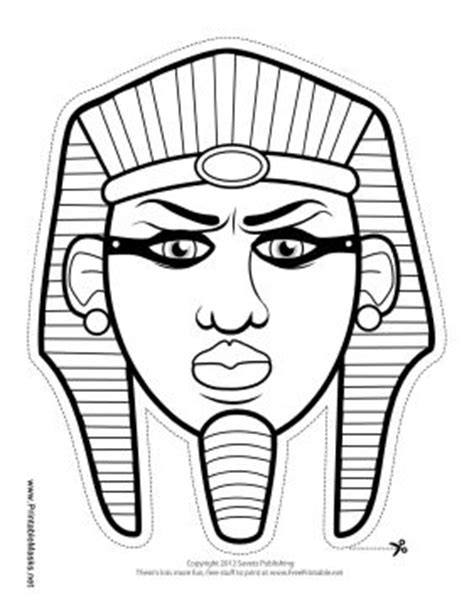 ancient helmet template this pharaoh mask is for any lesson on