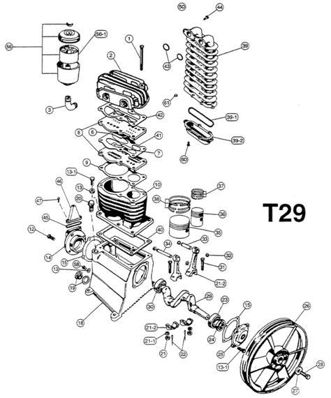 compressor unloader valve schematic compressor get free