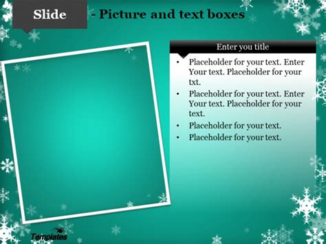 download free winter powerpoint template for presentation