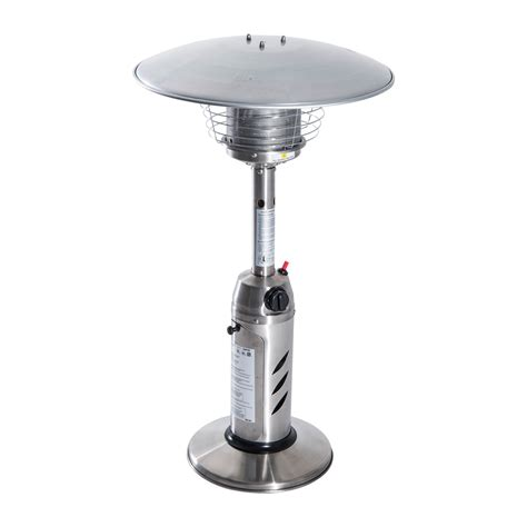 Tabletop Propane Patio Heater Outdoor Portable Tabletop Patio Heater Aosom Ca