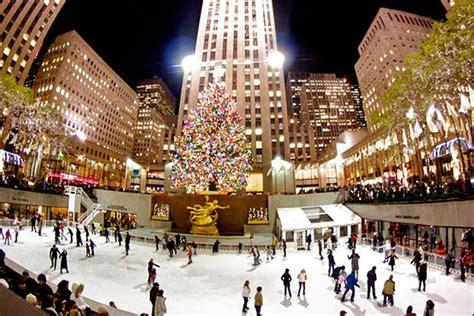 weihnachtsmarkt new york rockefeller christmas 10 top skating rinks in new york city