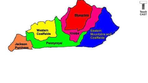 Region Of Kentucky by Kentucky S 6 Regions Nidhi