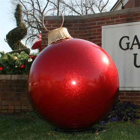 giant ball ornaments mall displays lifestyle centers