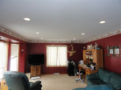 recess room living room recessed lighting