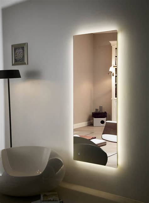 Back Lighted Bathroom Mirrors Backlit Mirror Led Bathroom Anzo Iv And Wondrous Back Lighted Mirrors Images Zodesignart