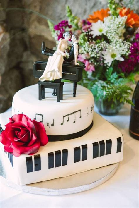Wedding Jazz Songs by Jazz Piano And Note Wedding Cake Cakecentral