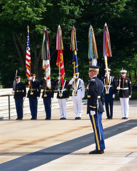 army color guard color guard arlington editorial image image of