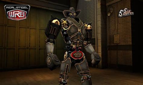film cowboy robot six shooter real steel wiki