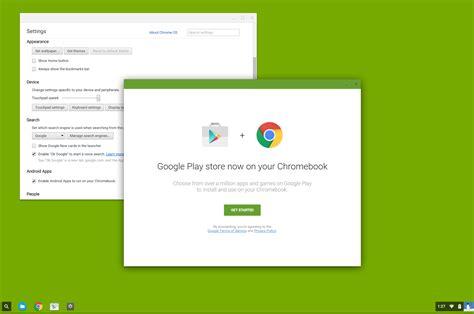 Play Store Chrome Play D 233 Barque Sur Chrome Os Mais Pas Sur Tous Les