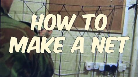to make how to make a net