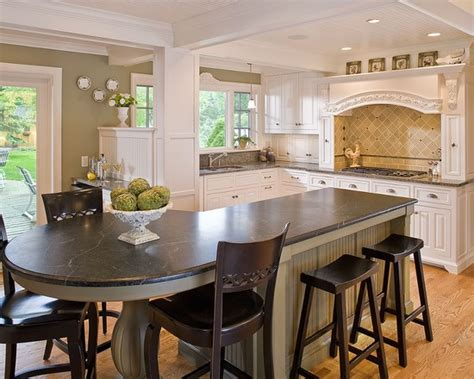 rounded kitchen island kitchen island design ideas pictures remodel and decor