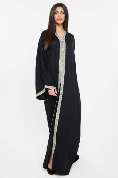 Abaya Dubai By Sofynice 104 buy nukhbaa black casual abaya for ethnic traditional wear uae souq