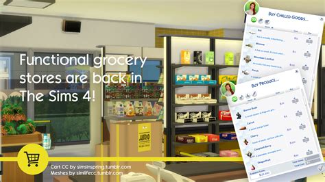 mod game market the sims 4 grocery mod now available simsvip