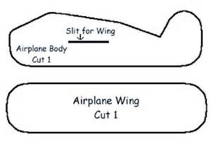 airplane cut out template styrofoam airplane craft airplanes transportation and craft