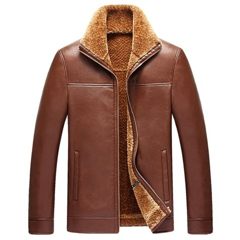 Jaket Kulit Kerah Bulu buy grosir bagus jaket kulit from china bagus jaket kulit penjual aliexpress