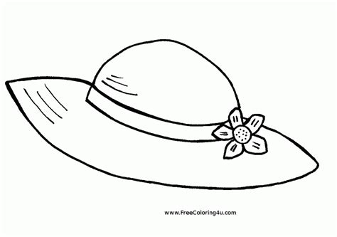 hat template for adults top hat coloring page coloring home