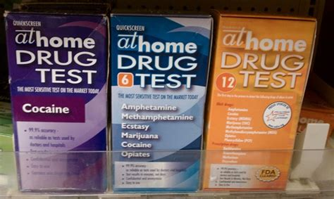 Cocaine Detox At Home by What Drugs Are Tested For By A Home Test