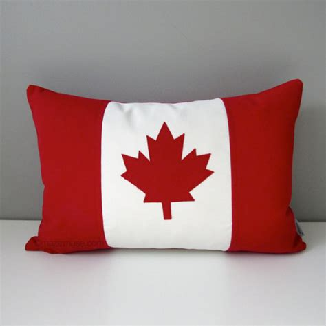 Decorative Throw Pillows Canada canada flag pillow cover canadian flag outdoor pillow cover