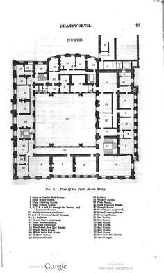 chatsworth floorplan castles and palaces pinterest chatsworth house first floor plan mid xix century