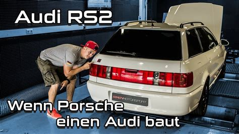 Audi RS2   Wenn Porsche einen Audi baut   SimonMotorSport ... Audi Rs2 Ersatzteile