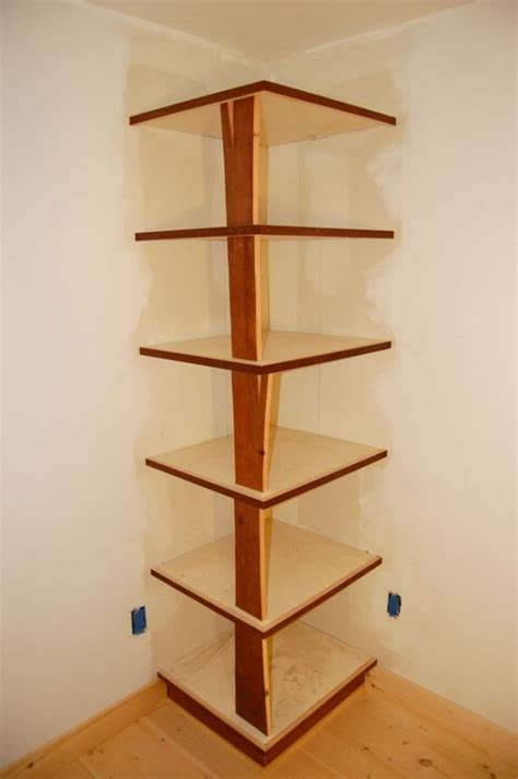 diy corner bookshelf design plans bookcase plans
