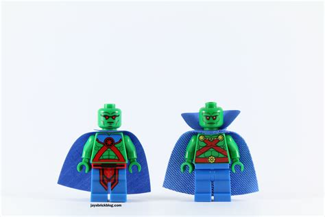 Dijamin Lego Minifigure Martian Manhunter Polybag review lego 76040 brainiac attack