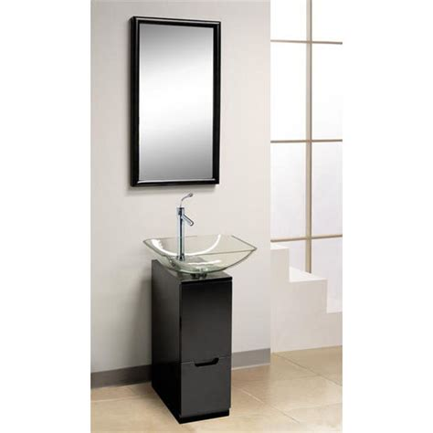 dreamline vessel sink pedestal w pull out drawer view all