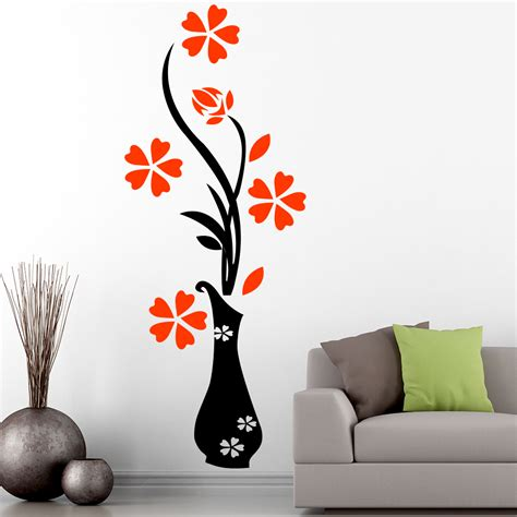 wall stickers floral wall sticker clipart best