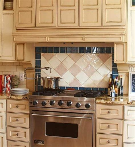 Kitchen Wall Tile Backsplash by Tile Backsplash Designs Over Stove Roselawnlutheran