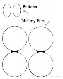 mickey mouse ears printable template pictures to pin on