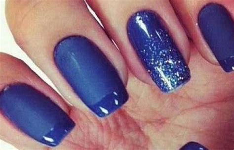 imagenes de uñas negras con azul decoracion de u 241 as para vestido azul rey