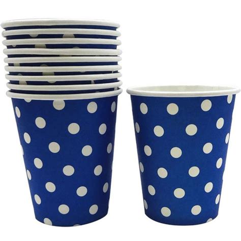 Pcp330 Colour Navy Include Paperbag Certificate royal blue dotted paper cups 10 supplies decorations and themes south africa