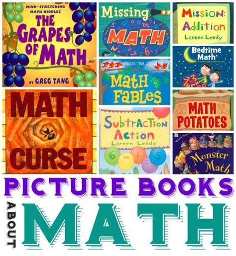 math picture book math picture books for ages 3 10 ten