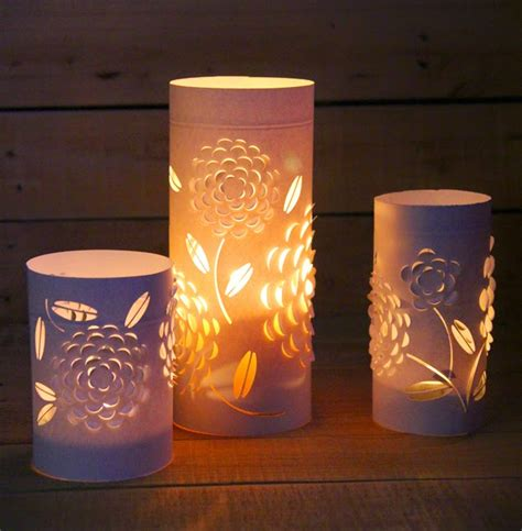 Paper Lanterns For Candles - paper candle holder http lomets