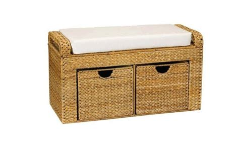 rattan ottoman storage wicker storage ottoman functional editeestrela design