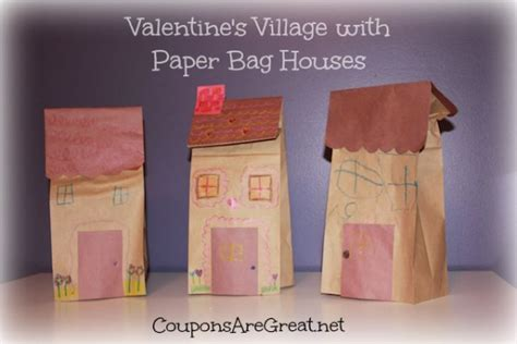 Paper Bag House Craft - s with paper bag houses