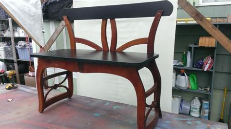 upside down bench 1000 ideas about chair bench on pinterest style craft