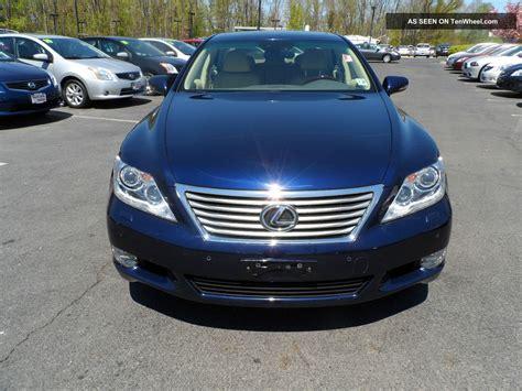 tan lexus 2011 lexus ls460 blue tan loaded serviced 1