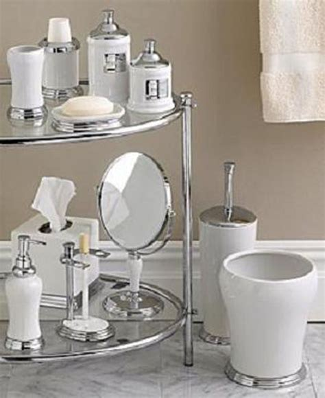 glamorous bathroom accessories ideas bath decors