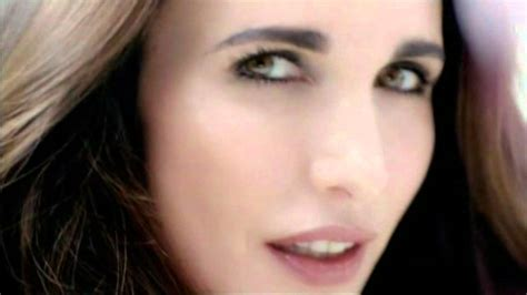 use wen commercial actress andie macdowell hair commercial l or 233 al commercial