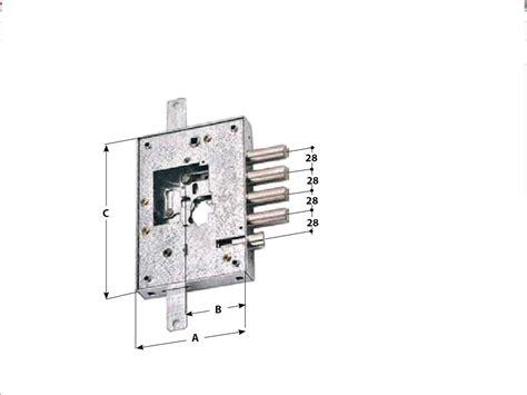 porte blindate securemme serratura securemme 2500 p nucleo i 28 dx per porta