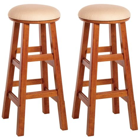 30 quot winsome 174 padded swivel stools set of 2 163914