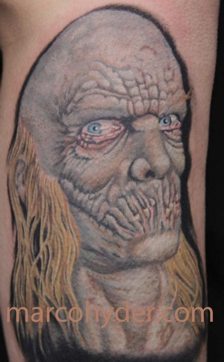 rob zombie tattoos dr satan rob character by marco hyder