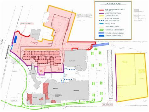 apartments site plan construction site logistics plan