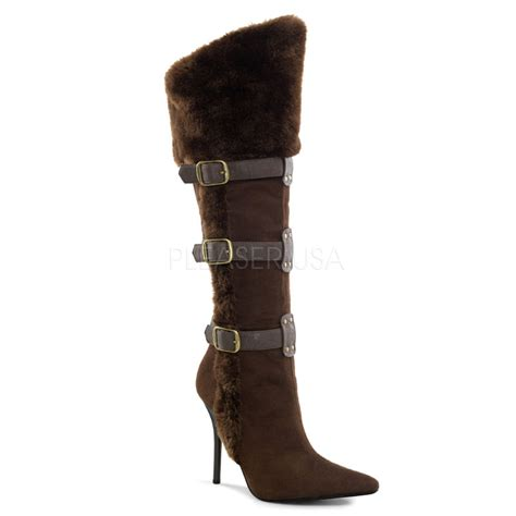 costume womens viking knee high boots thevikingstore co uk
