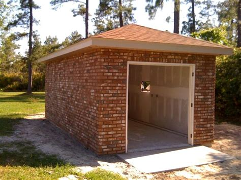 Brick Sheds by Deltona Shed The 3d Builders