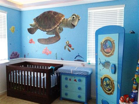 finding nemo baby room decor finding nemo nursery future disney home design and wardrobes